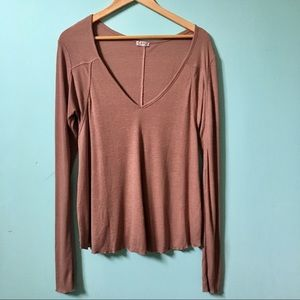 Free people intimately free long sleeve top